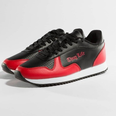 Thug Life Sneakers 187 in red