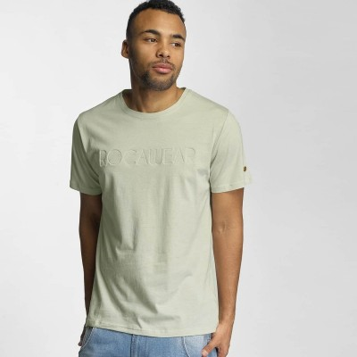 Rocawear T-Shirt Logo in olive