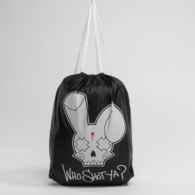 Who Shot Ya? Pouch Logo in...