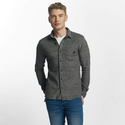 Just Rhyse Shirt mono in grey