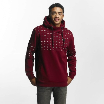 Just Rhyse Hoodie Thane in red