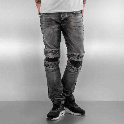 2Y Slim Fit Jeans Knee in grey