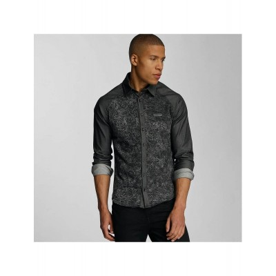 Bangastic Shirt Rouen in grey