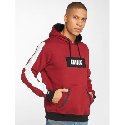 Ataque Hoodie Mataro in red