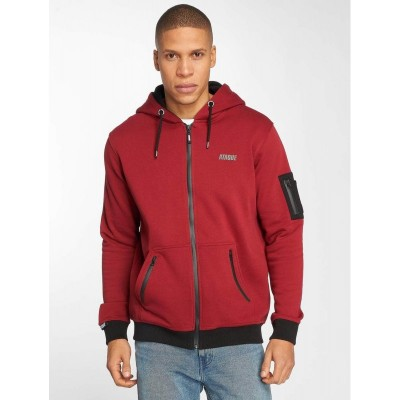 Ataque Zip Hoodie Gijon in red