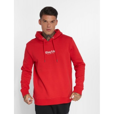 Thug Life Hoodie Blaze in red