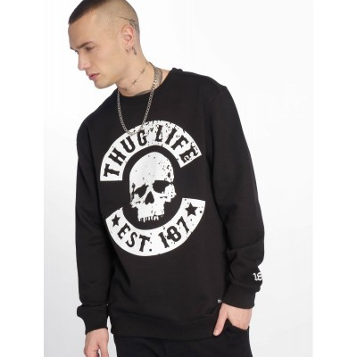 Thug Life Jumper Kuza in black
