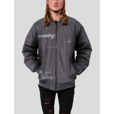 De Ferro Bomber jacket Word...