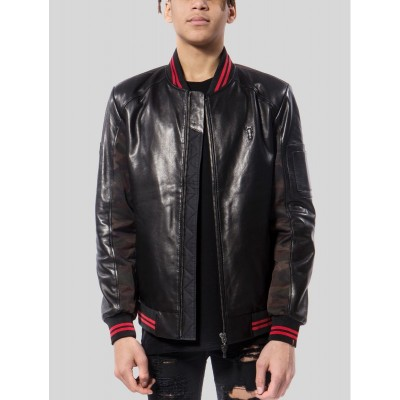 De Ferro Leather Jacket Bb...