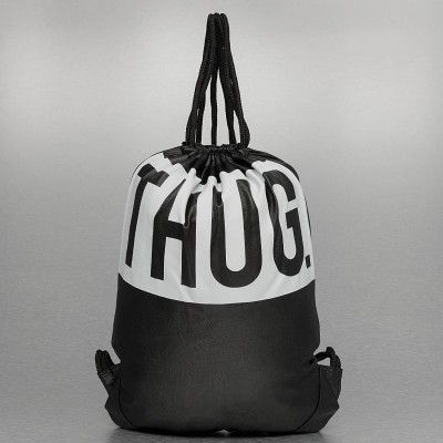 Thug Life Pouch THUG. in black