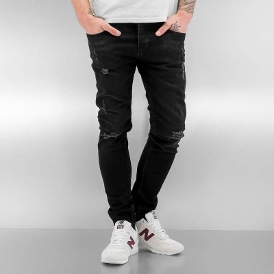 2Y Chester Skinny Jeans Black